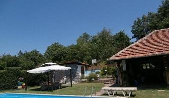 Нощувка за 8,11 или 19 човека в Златна Панега - къща Чучи с басейн, барбекю, механа, градина, SPA-зона и още !