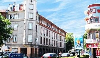 Нощувка за ДВАМА в центъра на Пловдив в хотел Елит Палас