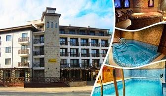Нощувка за двама със закуска и ползване на басейн, джакузи и сауна от хотел Клептуза ****, Велинград
