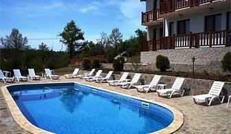 Нощувка със закуска + басейн за двама или четирима в Семеен хотел КрисБо, с. Донковци, общ. Елена