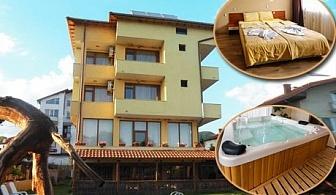 Нощувка със закуска + басейн и джакузи с МИНЕРАЛНА вода САМО за 24.90 лв. в хотел Шарков, Огняново