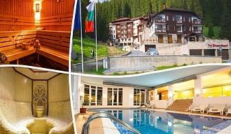 Нощувка със закуска + басейн и СПА зона в хотел Стрийм Ризорт, Пампорово
