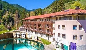 Нощувка със закуска на човек + басейн и сауна в хотел Борика****, Чепеларе