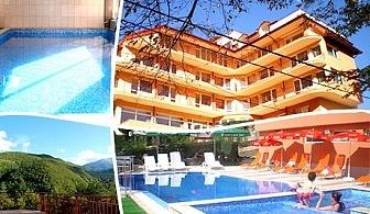 Нощувка, закуска, обяд* и вечеря + 2 басейна и минерално джакузи от СПА хотел Костенец