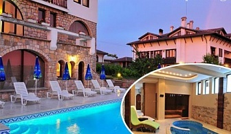 Нощувка, закуска и ползване на джакузи в хотел Винпалас, Арбанаси