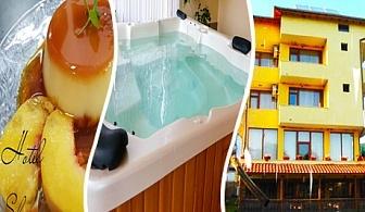 Нощувка със закуска + сауна и джакузи с МИНЕРАЛНА вода за 24.90 лв. в хотел Шарков, Огняново