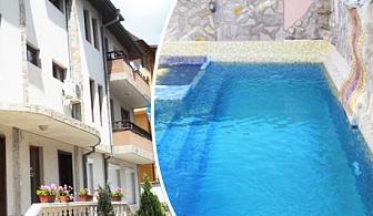 Нощувка със закуска + външен басейн и джакузи с минерална вода в хотел Медея, Велинград