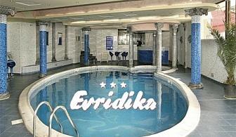 Нощувка със закуска и вечеря + басейн и СПА само за 24 лв. в хотел Евридика***, Пампорово