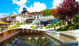 Нощувка със закуска и вечеря + басейн и СПА с МИНЕРАЛНА вода в луксозните вили на комплекс Русковец Резорт****, Добринище