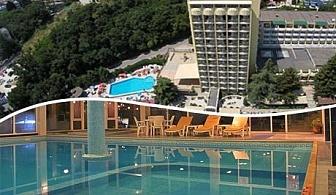 От 17.05 до 14.06 нощувка със закуска и вечеря + 2 басейна на цени от 33.90 лв. в хотел Шипка**** Златни пясъци