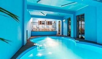Нощувка със закуска и вечеря + ЧИСТО НОВ топъл басейн само за 46.50 лв. в хотел Шато Монтан, Троян.