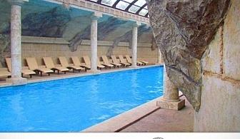 Нощувка със закуска и вечеря + ползване на басейн и СПА с минерална вода от Винен и СПА комплекс Старосел, Хисаря
