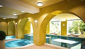 Нощувка, закуска и вечеря + СПА център с басейн на ТОП ЦЕНИ  в хотел Бор, Семково