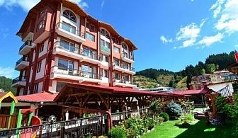 Нощувка със закуска и вечеря + тенис на корт в хотел Йола, Чепеларе