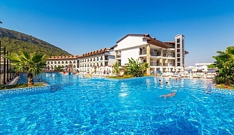 7 нощувки на човек на база All Inclusive + басейн и аквапарк  в хотел Ramada Resort Akbuk, Дидим, Тусрция. Дете до 13г. - БЕЗПЛАТНО!