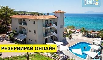 3+ нощувки на човек на база Закуска и вечеря в Akti Hotel 2*, Пефкари, о. Тасос, безплатно за деца до 3.99 г.