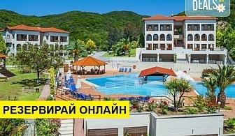 5+ нощувки на човек на база Закуска и вечеря, All inclusive в Theoxenia Hotel 4*, Уранополис, Халкидики, безплатно за деца до 1.99 г.