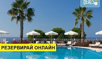 2+ нощувки на човек на база Закуска и вечеря в Pomegranate Wellness Spa Hotel 5*, Потидея, Халкидики, безплатно за деца до 1.99 г.