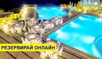 5+ нощувки на човек на база Закуска, Закуска и вечеря, Закуска, обяд и вечеря в Sivota Diamond Spa Resort 5*, Сивота, Епир