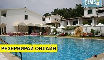 3+ нощувки на човек на база Закуска, Закуска и вечеря в Across Paradise Inn Hotel 3*, Лиападес, о. Корфу