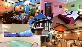 2 нощувки на човек със закуски и вечери + басейн и сауна от хотел Ида***, Банско