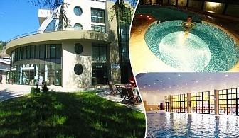 1 или 2 нощувки на човек със закуски и вечери в хотел Евридика, Девин + минерален басейн и СПА пакет по избор