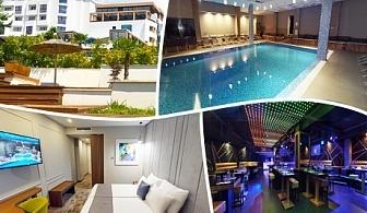 2, 3 или 4 нощувки на човек със закуски и вечери + МИНЕРАЛЕН басейн, СПА пакет и масаж в Хотел Медите СПА Резорт*****