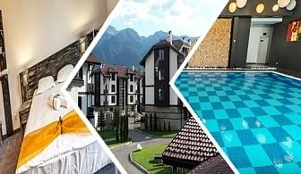 2, 5 или 7 нощувки на човек със закуски или закуски ивечери + басейн с МИНЕРАЛНА вода и релакс пакет в хотел 3 Планини, Разлог до Банско