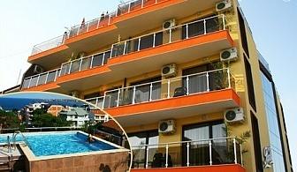 3, 5 или 7 нощувки със закуски, обеди и вечери + панорамен басейн и шезлонг в Хотел Русалка, Китен през юни