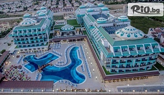 Нова година в Анталия, Белек! 4 нощувки на база Ultra All Inclusive и Новогодишна вечеря в Sensitive Premium Resort SPA 5 * + автобусен транспорт, от Космополитън Травъл