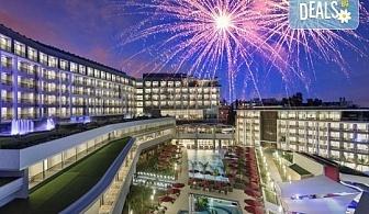 Нова година в Анталия! 4 нощувки на база Ultra All Inclusive в The Sense Deluxe hotel 5 *, Сиде, Гала вечеря, двупосочен билет, летищни такси и трансфери