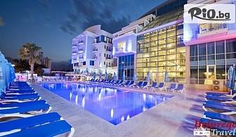 Нова година в Анталия, Турция! 4 нощувки на база Аll Inclusive в Sealife Family Resort Hotel 5*, от Белпрего Травел