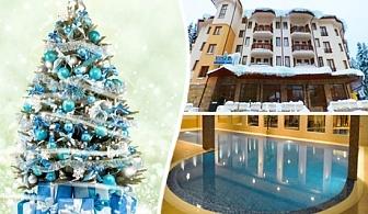 Нова Година в Боровец! 2 нощувки със закуски и вечери (едната празнична с жива музика) + басейн и релакс център за 290 лв. в хотел Вила Парк