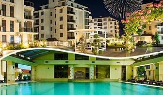 Нова година на брега на морето. 2 или 3 нощувки, закуски, вечери с развлекателни програми и новогодишен куверт + СПА с минерална вода в Long Beach Resort & Spa 5*, Шкорпиловци