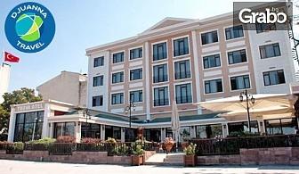 За Нова година в Чанаккале! 3 нощувки със закуски и вечери, едната празнична, в хотел Buyuk Truva****