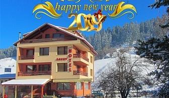 Нова година в Чепеларе! 3 или 4 нощувки на човек със закуски и празнична вечеря + сауна и джакузи
