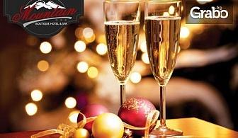Нова година в Девин! 3 нощувки със закуски и празнична вечеря - за един или за до четирима, плюс SPA