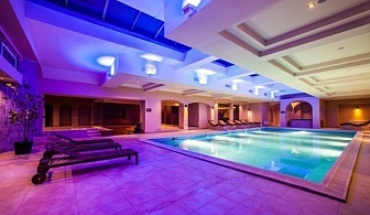 Нова година 2018 в хотел Роял СПА - Велинград за ТРИ нощувки за ДВАМА със закуска и вечеря, ползване на басейни с минерална вода, външен и вътрешен шоков басейн, зони за релакс, джакузи, финландска, арома, инфрачервена и солна сауна - панорамна и арома па