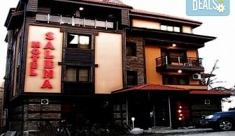 Нова година в хотел Салена 2*, Банско! 3 или 4 нощувки със закуски и празнична вечеря, ползване на сауна и джакузи, безплатно за дете до 3г.!