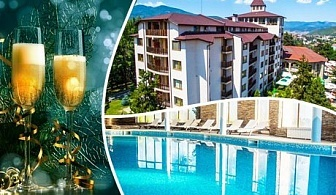 Нова година в Хотел СПА Клуб Бор 4* Велинград! 3 или 4 нощувки със закуски и вечери + Новогодишен куверт, топъл басейн и СПА