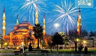 Нова Година 2017 в Истанбул с Дениз Травел! 2 нощувки със закуски в History Hotel 3*, транспорт и програма
