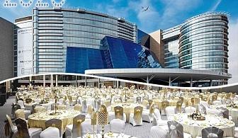 Нова година в Истанбул! 2, 3 или 4 нощувки на човек, закуски и басейн в Mercure Istanbul  & Pullman Convention Center 5* от ТА Далла Турс. Доплащане за празнична вечеря