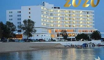 Нова година в Кавала, Гърция! 3 нощувки на човек със закуски и вечери + празнична вечеря по избор в Lucy Hotel*****