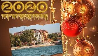 Нова година 2020 в Поморие! 2 или 3 нощувки на човек със закуски и доплащане за Празнична вечеря  + басейн и СПА в хотел Сейнт Джордж****