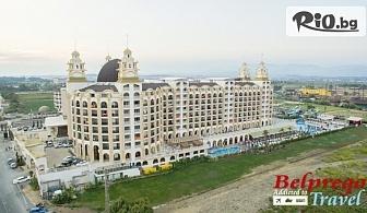 Нова година в Турция! 4 нощувки на база All Inclusive в Jadore Deluxe Hotel andSpa 5*, Сиде, от Белпрего Травел