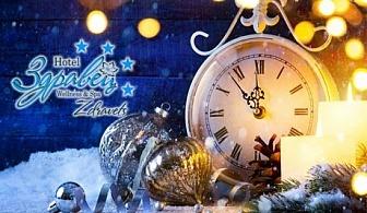 Нова година във Велинград! 3 или 4 нощувки в апартамент за до 5-ма + закуски, вечери и новогодишен куверт с DJ в Хотел Здравец Уелнес и СПА****