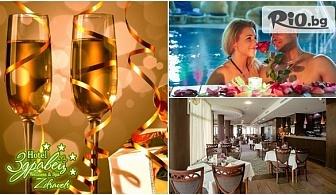Нова година във Велинград! 3 или 4 нощувки със закуски и вечери /едната Празнична с музикално-артистична програма/ + Брънч, СПА и басейн, от Хотел Здравец Wellness andamp; Spa 4*