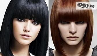 Нова визия! Трайно изправяне на косата с кератинова терапия Alfaparf с трайност до 6 месеца, от IL Salone Anira