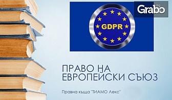 Обслужване от длъжностно лице по защита на данните във връзка с GDPR - за 6 или 12 месеца