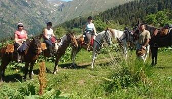 """Обучение по езда, грижа за коня и оседлаване в конна база """"Хан Апарух"""" от Езда София"""